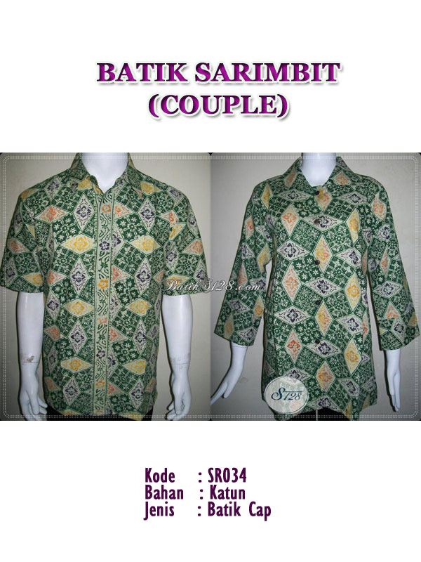 Batik sarimbit Couple,wanita model blus
