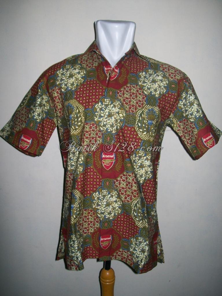 Batik Bola Solo Murah Online  Arsenal  Kwalitas Dijamin BB002