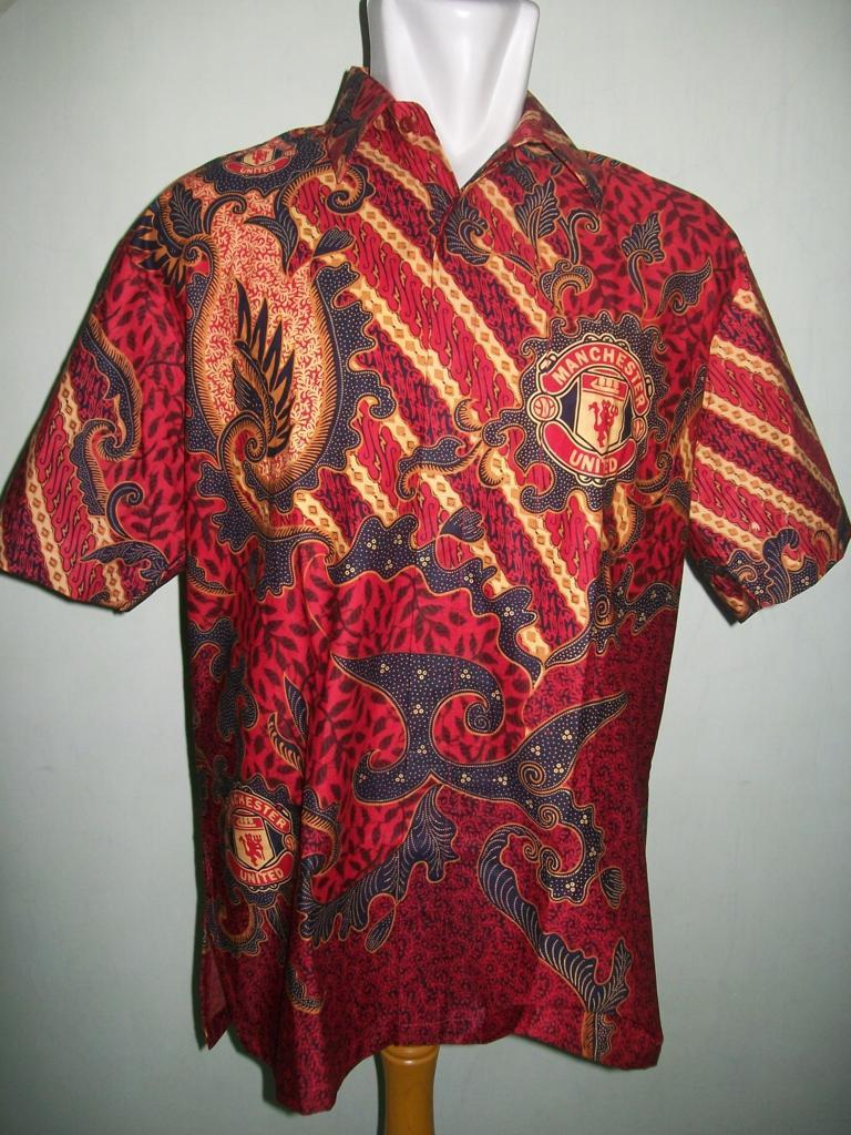 Jual Batik Bola MU  Manchester United Solo Murah BB004  Toko