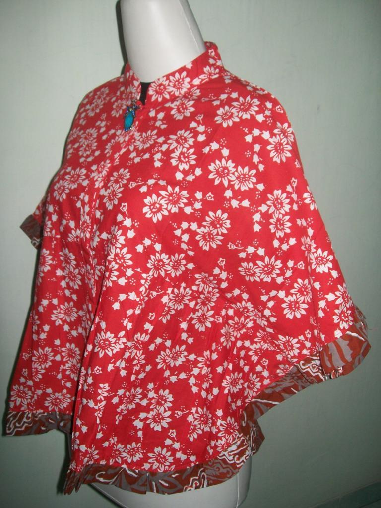 Jual Blus Bolero Kelelawar Batik Model Terbaru [BKP004]