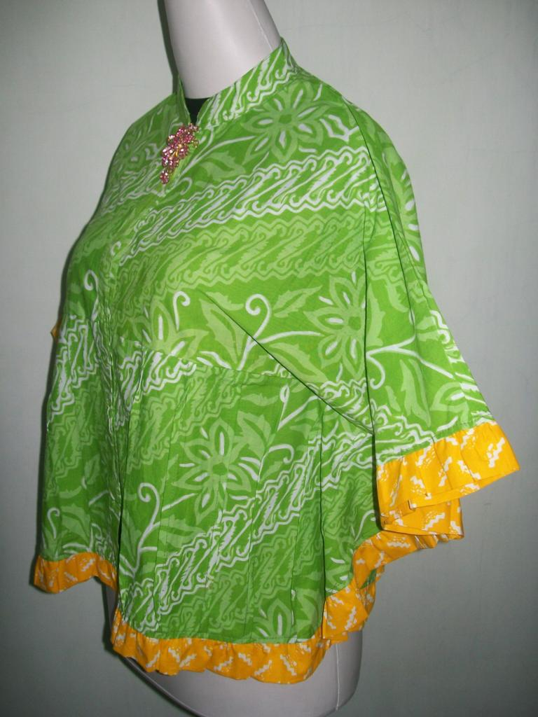 Blus Batik Model Kelelawar Atau Bolero Batik Kelelawar Motif Terbaru Dan Trendy [BKP005]
