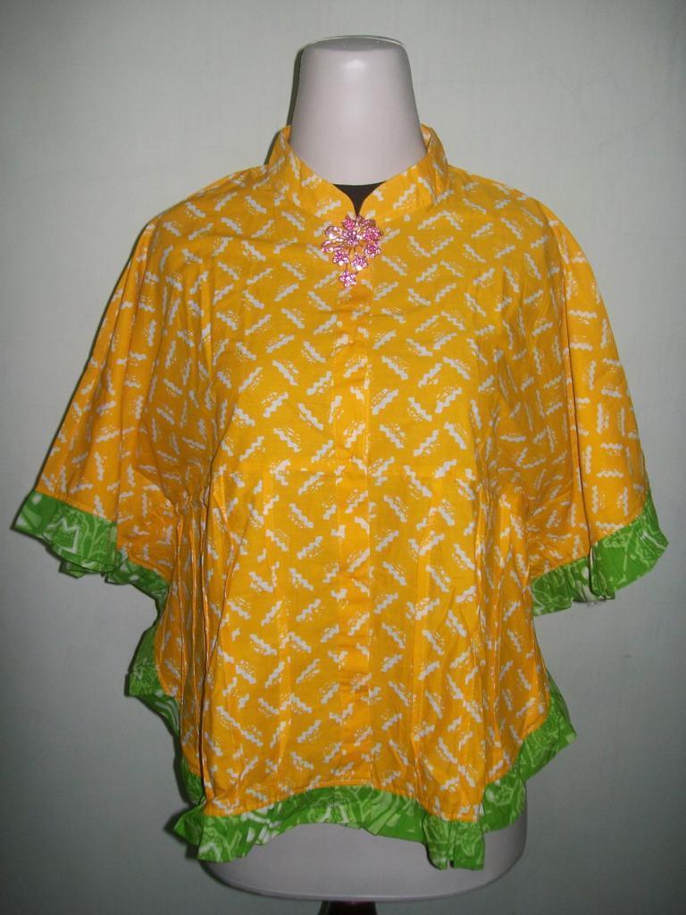Model Terbaru Bolero Batik Atau Blus Batik Kelelawar Trend