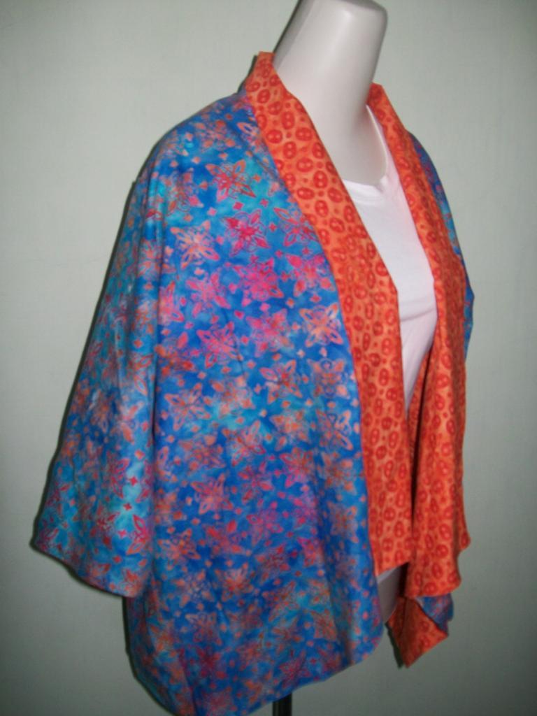 Jual Bolero Batik Wanita Murah Bolak Balik Trendy Modern Bisa Formal maupun Santai [BL003]