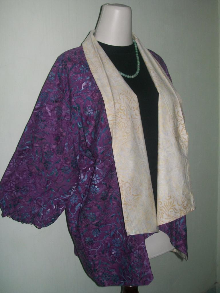 Jual Murah Bolero Batik Bolak Balik Model Blazer [BL028]