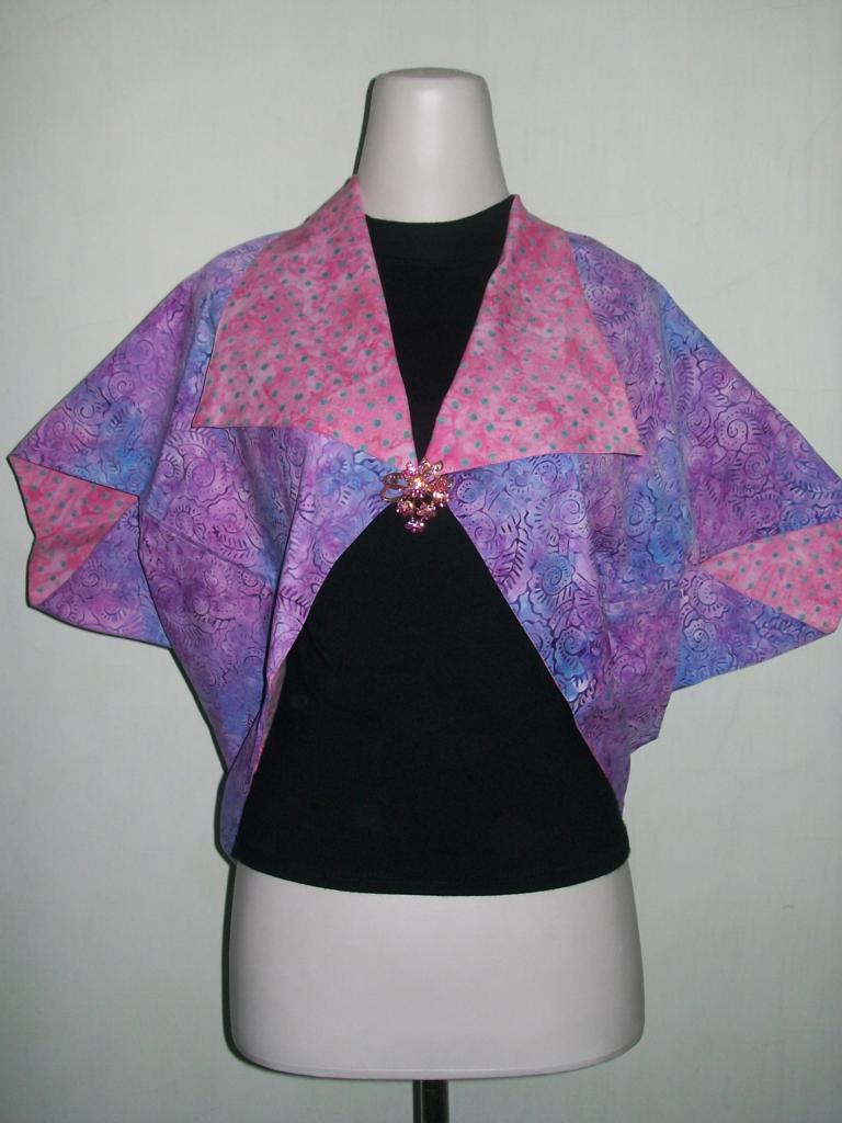 Jual Bolero Batik Bolak Balik Untuk Remaja Dengan Motif Trendy [BL038]
