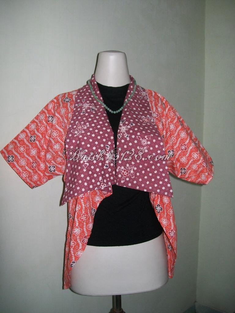Jual Bolero Batik Murah Motif Terbaru,Model Terkini, Trend Wanita Modern [BL043]
