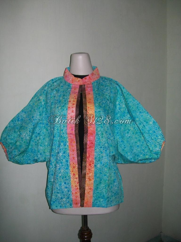 Jual Bolero Batik Bolak Balik, Batik Cap Smok, Harga Murah, Model Trendy, Terlaris Di Pasaran [BL045]