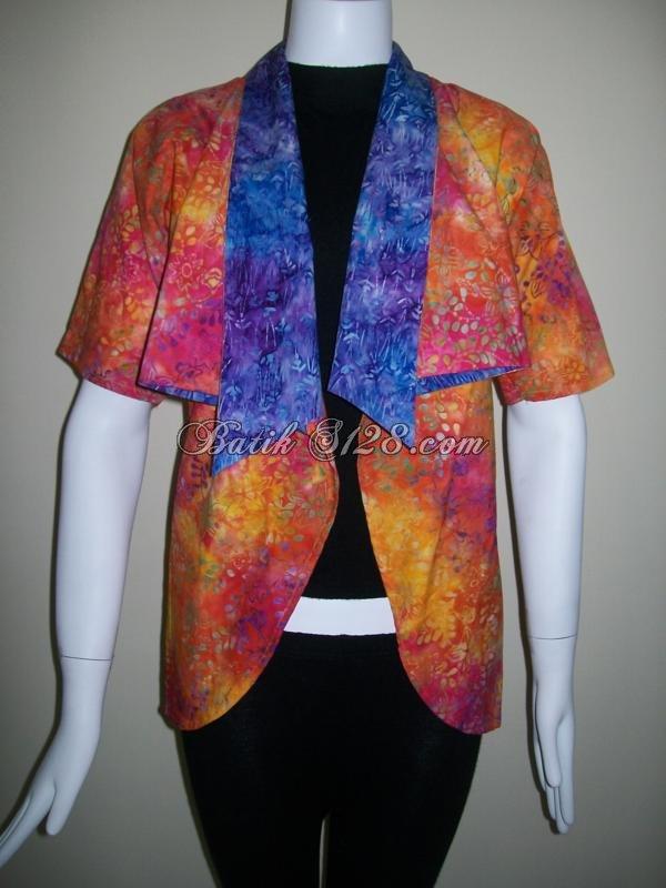 Bolero Batik Murah,Batik Bolak Balik Trendy Dan Menarik [BL105]