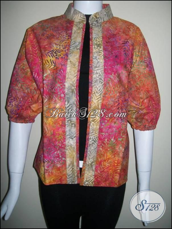 Bolero Batik Bolak Balik Berkwalitas Dan Cardigan BAtik Modern [BLR010]
