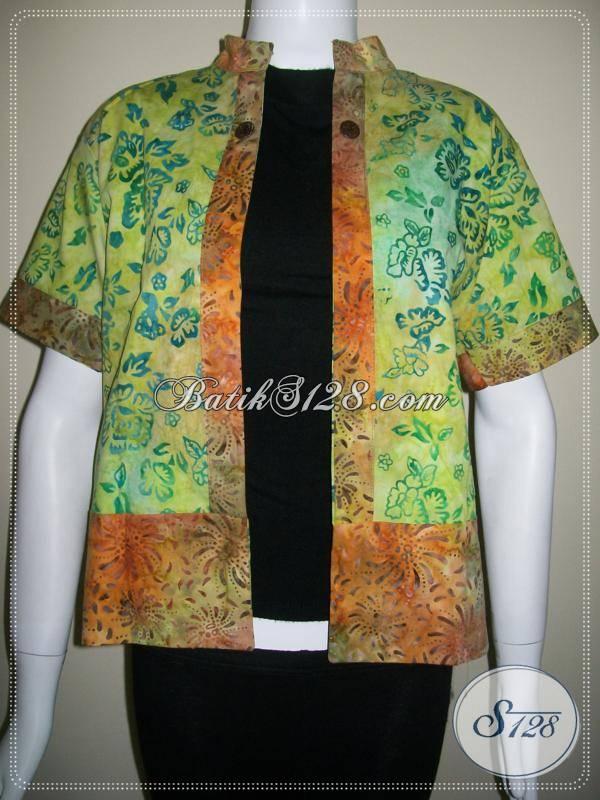 Bolero Cantik Batik Modern [BLR021]