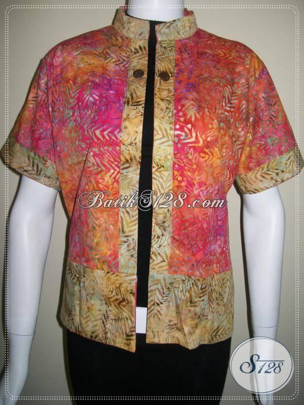 Cardigan Batik Cantik,Cardigan Bolak Balik Model Terkini [BLR023]