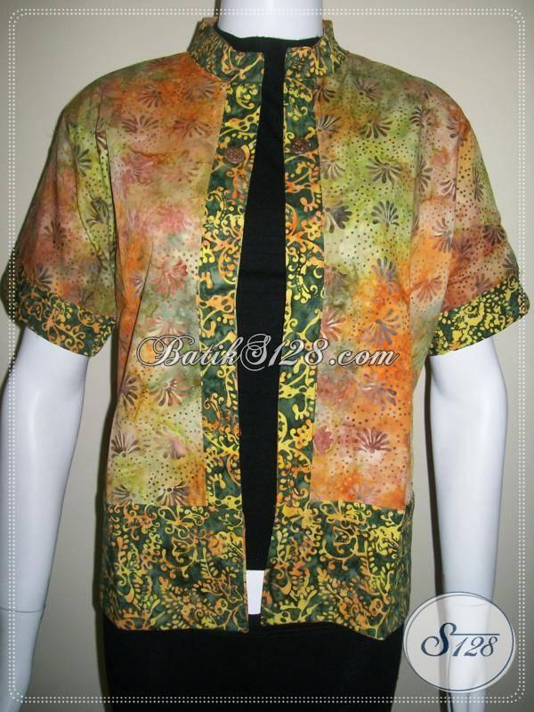 Jual Blazer Batik Bolak BalikBlazer Batik Untuk Busana