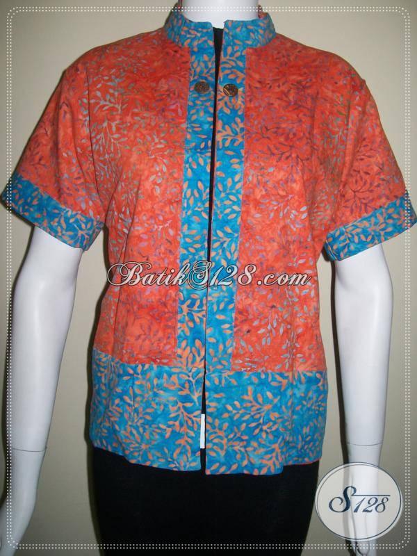Jual Cardigan Batik Bolak Balik Model Elegant [BLR026]