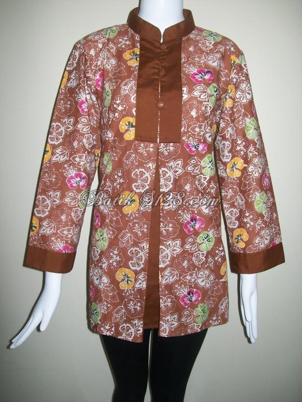Blouse Batik Modis Model Blouse Batik