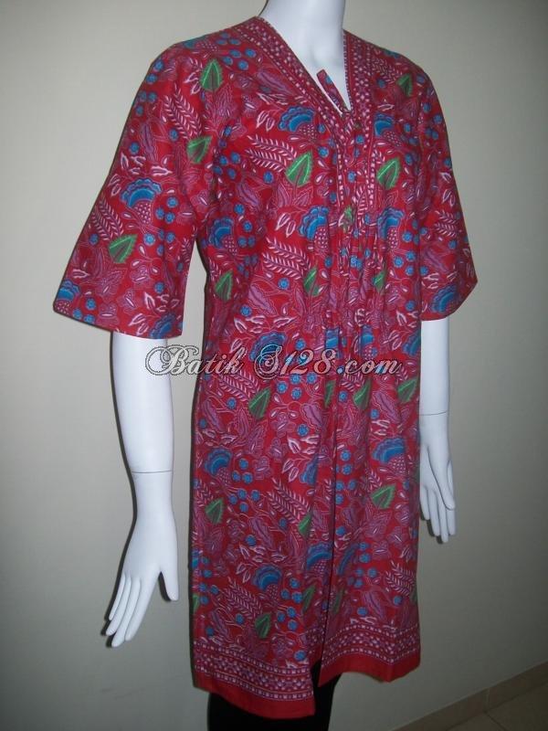 Baju Batik Model Terkini Dari Batik Solo Bls055 Toko