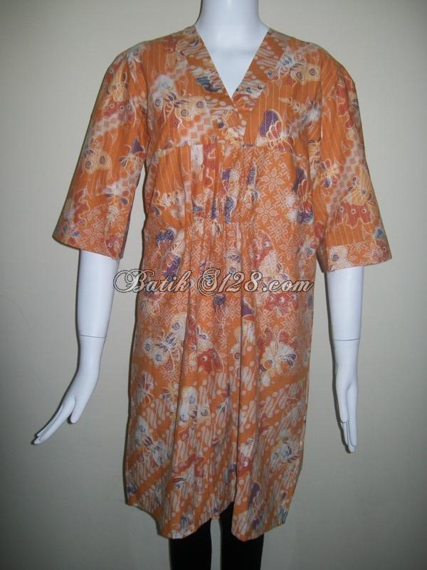 Blus Batik Modern Indonesia, Khas Batik Solo [BLS056]