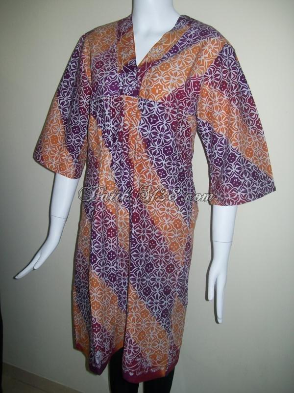 Jual Baju Batik Murah Dengan Motif Batik Gradasi Bls064