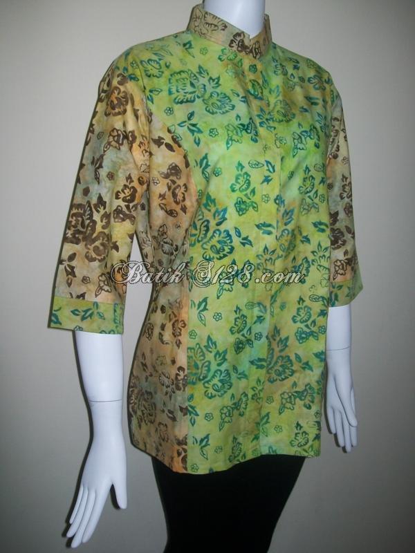 Jual Batik Dua Warna Dengan Motif Sama Dan Bahan Berkwalitas Expor [BLS066]