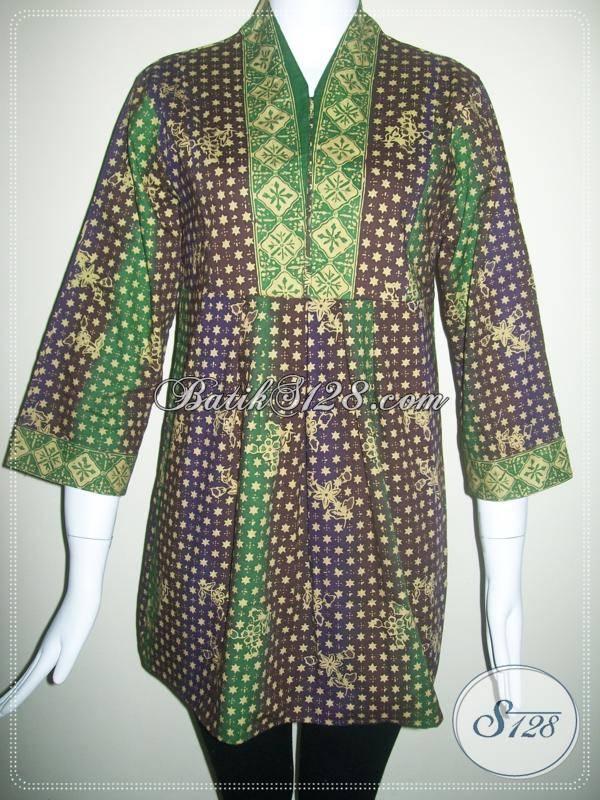 Jual Baju Batik Motif Etnik,Trendy Dan Murah Dari Solo [BLS109]