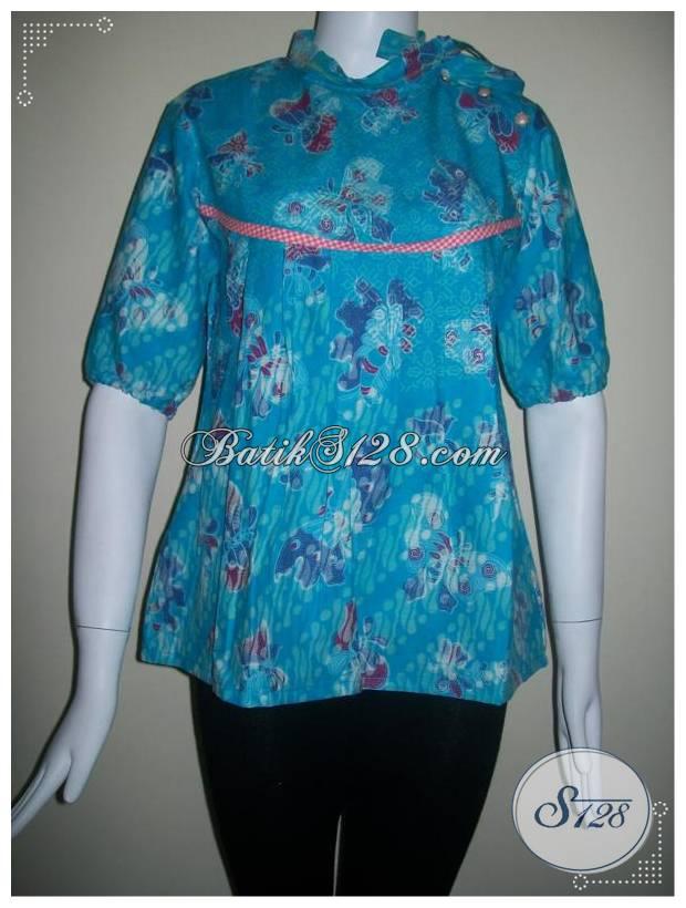 Baju Batik Murah Untuk Remaja Wanita Aktif [BLS127]