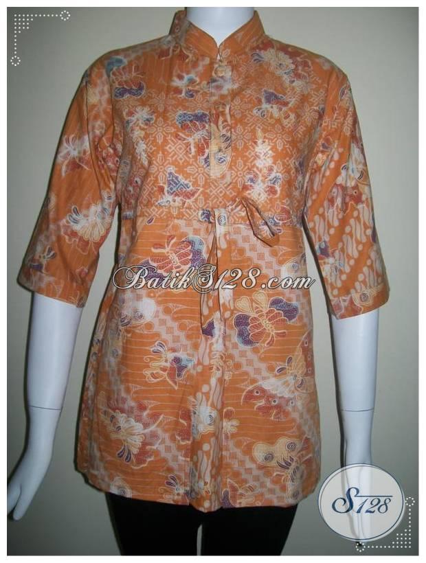 Blus Batik Elegant,Murah,Dan Trendy Asli Solo [BLS129]