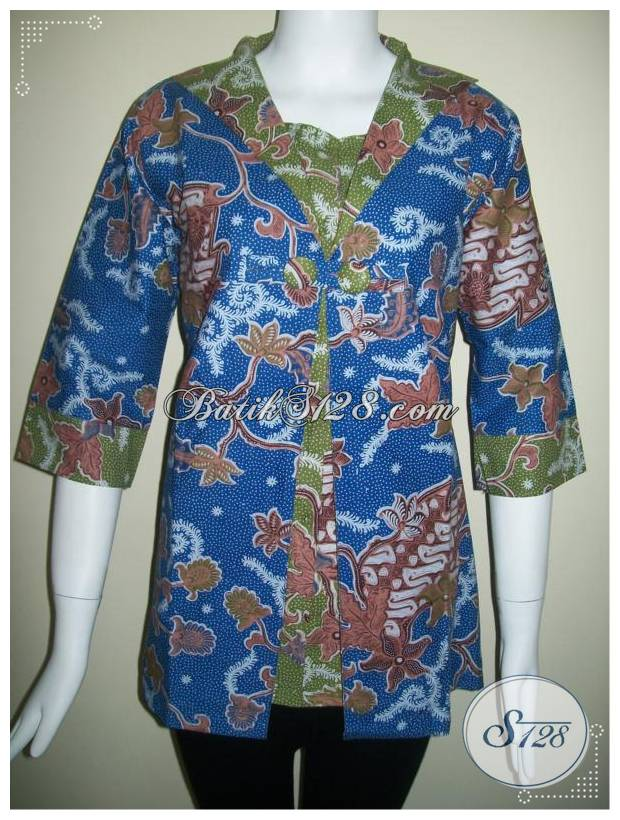 Busana Batik Fashion Untuk Wanita Pekerja [BLS164]