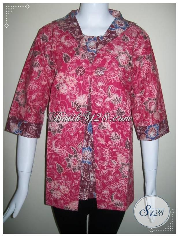 Model Baju BAtik Kerja Terbaru 2013 [BLS167]