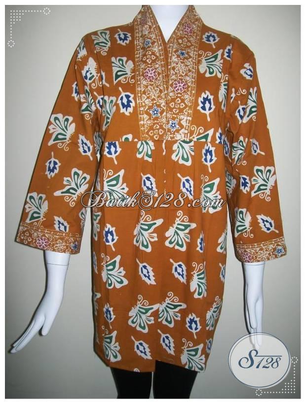 Busana Batik Kerja Kantor Untuk Wanita Aktif, Batik Murah Asli Solo [BLS180]
