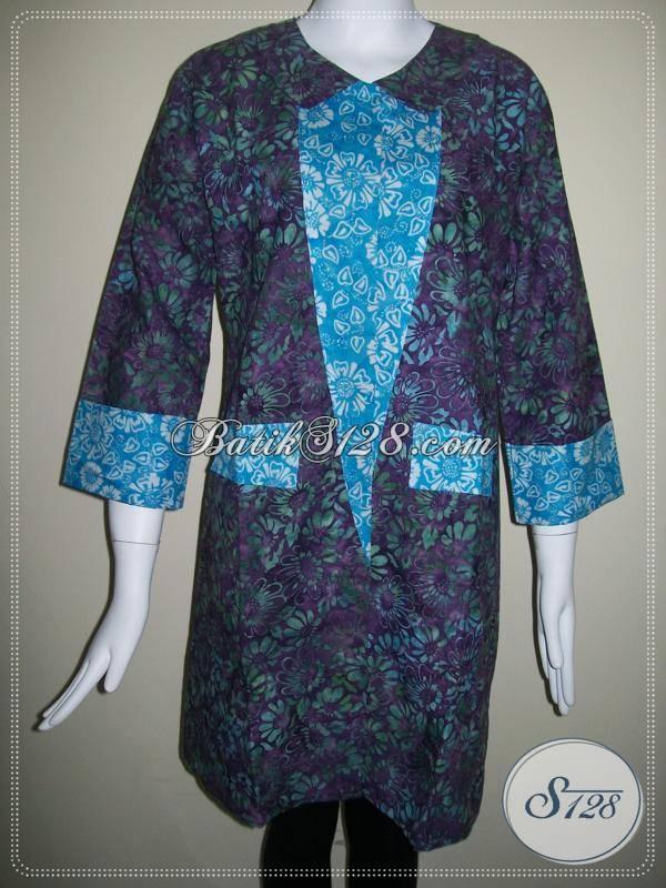Busana Batik Cantik Untuk Wanita Hijabers [BLS202]