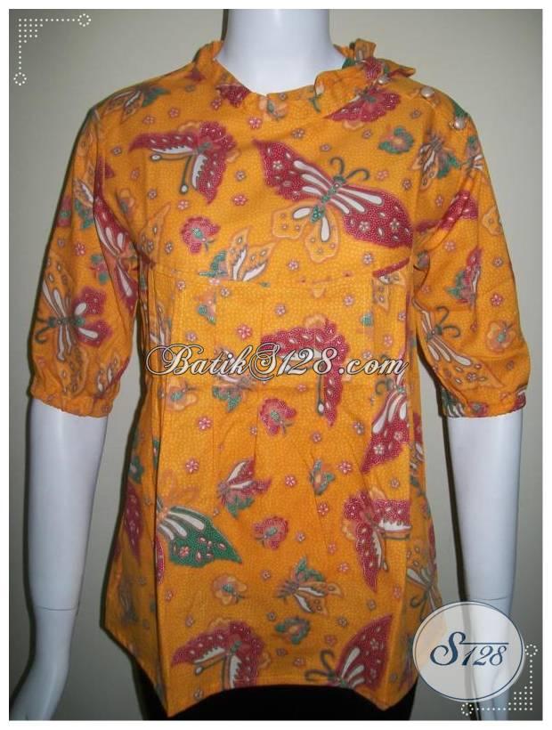 Baju Batik Model Tali Dan Kancing Di Bahu Trendy Dan Nyaman Bls230