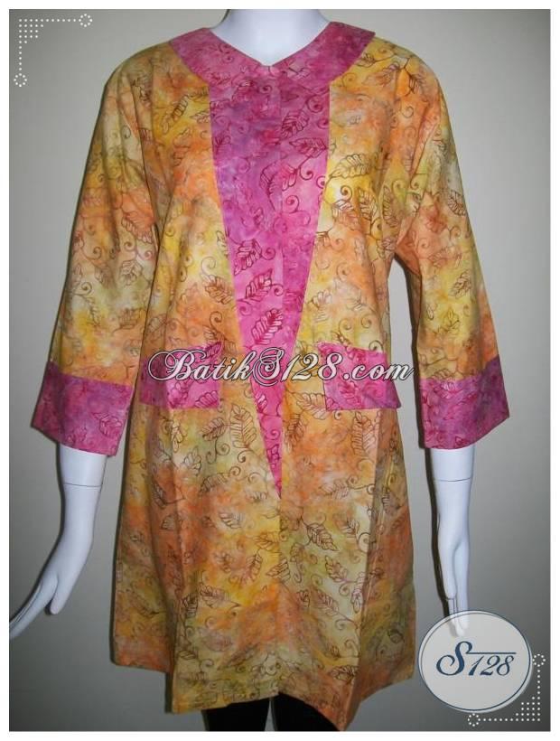Blus Batik Untuk Busana Wanita Berjilbab [BLS259]