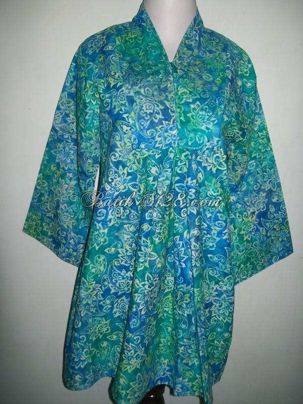 Busana Batik Kerja Untuk Wanita Modern Dan Trendy [C34015]