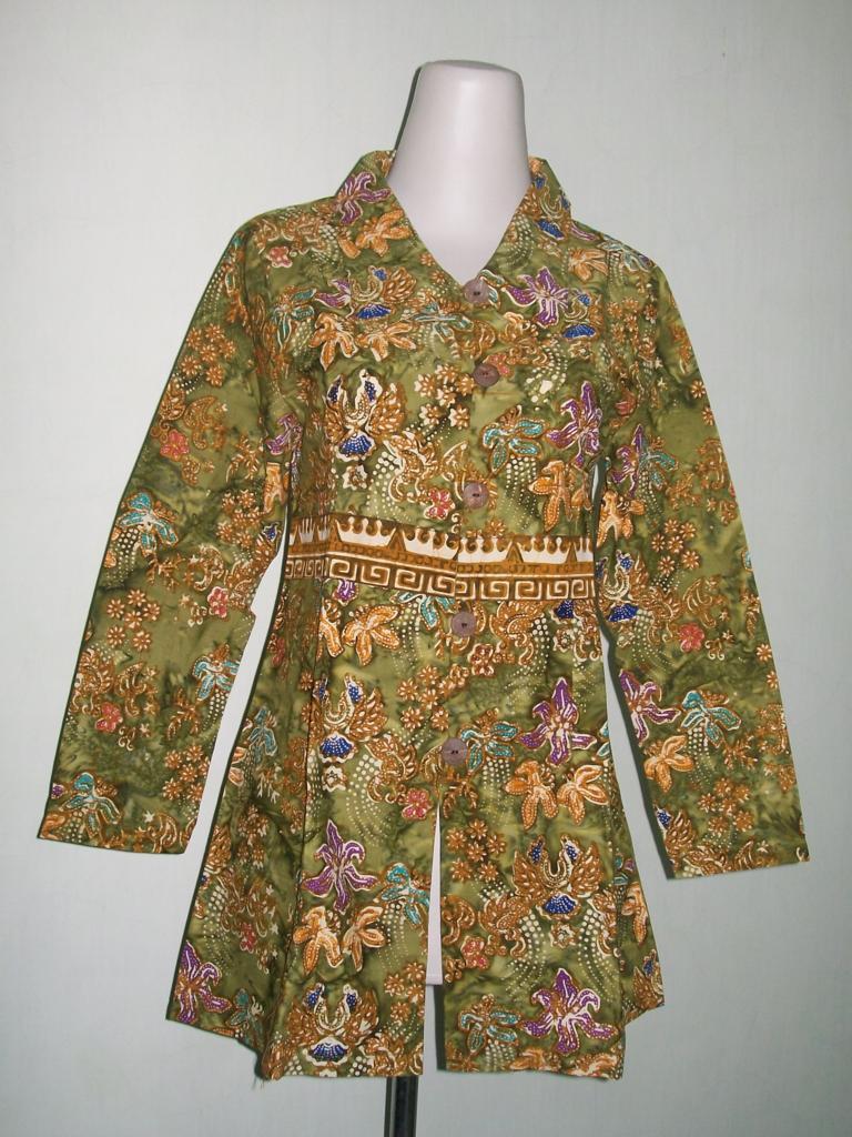 Jual Batik Lengan Panjang Modern Dan Murah Cp046 Toko