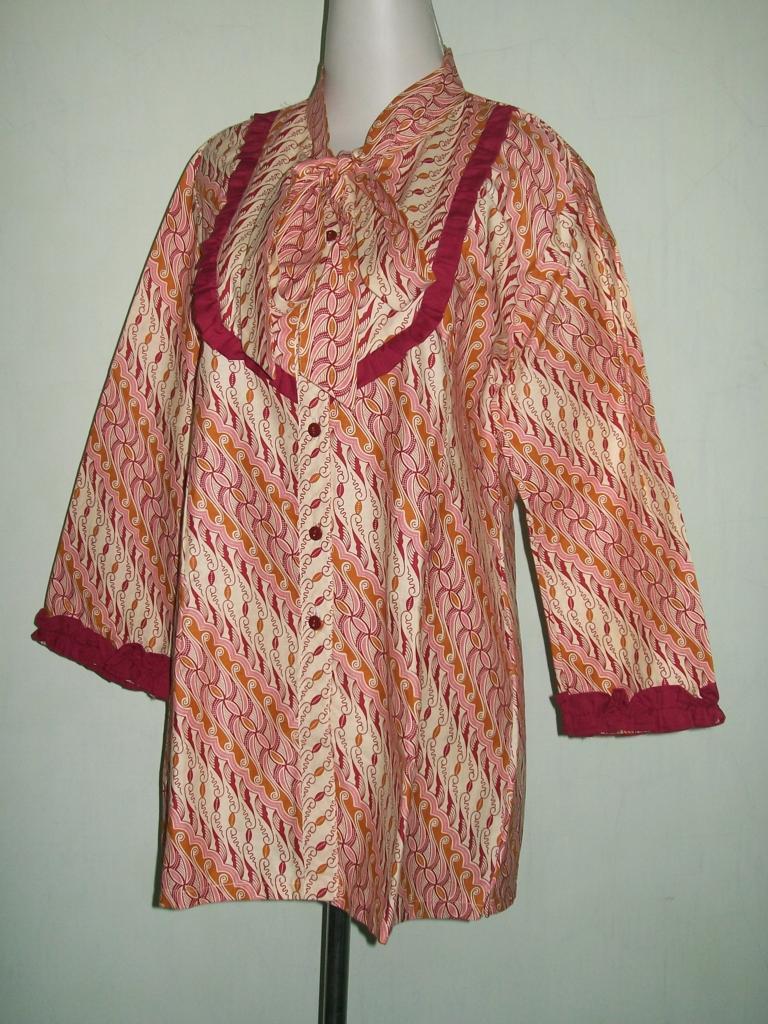 Motif Batik Parang Blus Batik Asli Solo [CP048]