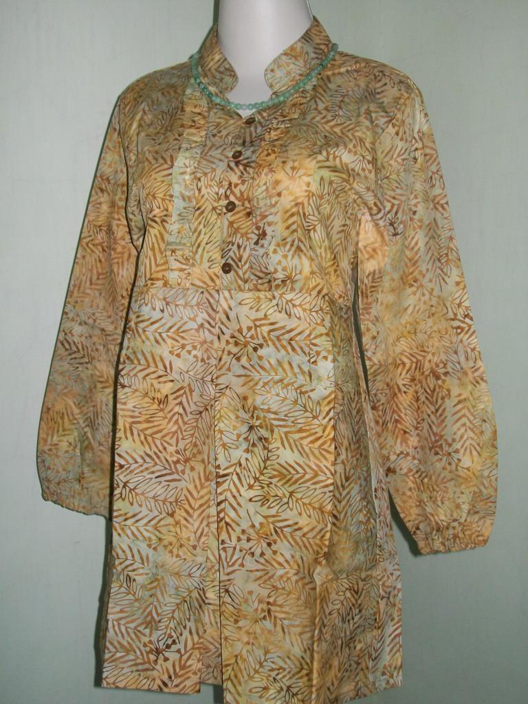 Jual Blus Batik Lengan Panjang Harga Grosir [CP052]