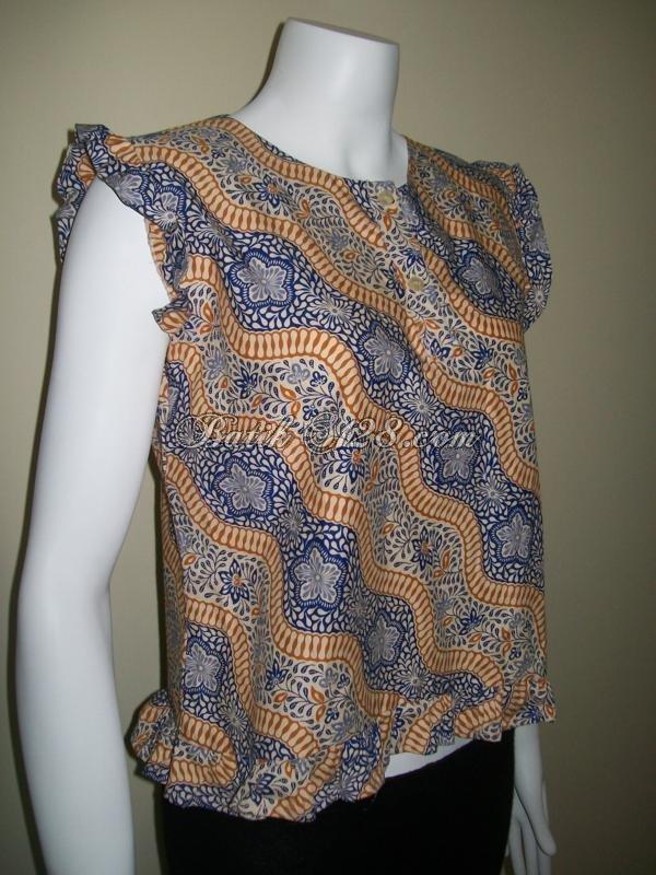 Vest Batik Tanpa Lengan Model Terbaru [CTL007]