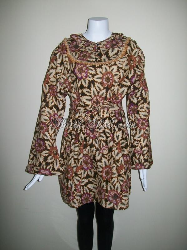 Dress Batik Terbaru Harga Terjangkau Online [D012]
