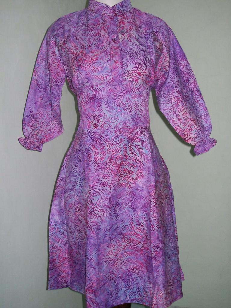 Model Terkini Sackdress Batik Modern Dan Trendy Asli Solo [DR002]