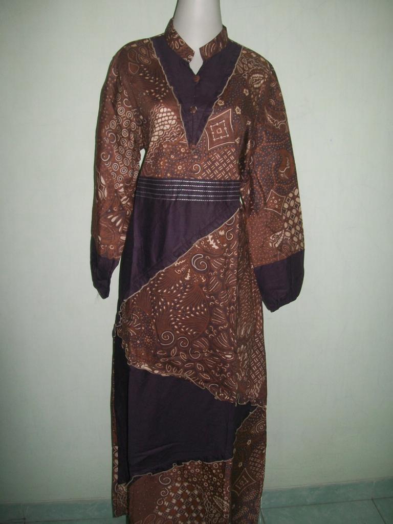 Jual Gamis Batik Murah Dan Modern [GM027]