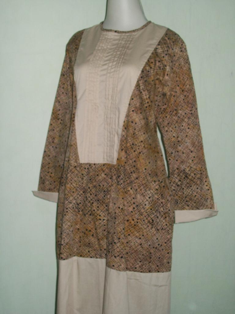 Jual Gamis Atau Abaya Batik Murah Dan Terkini [GM033]