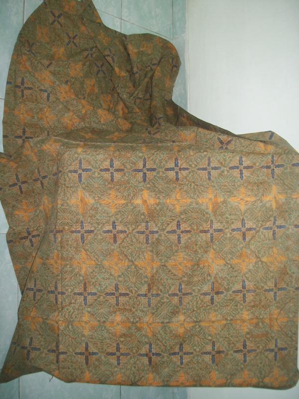 Beli Bahan Batik Online Jenis Cap Kombinasi Tulis [K043]