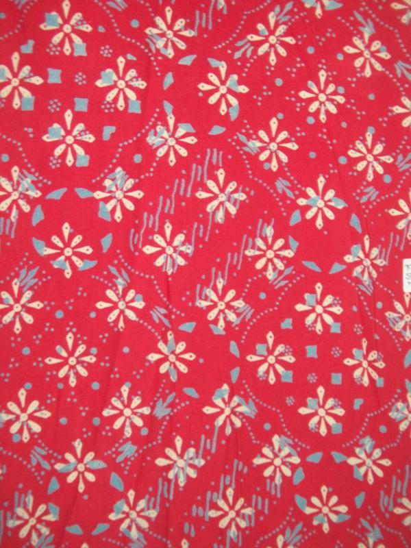 Kain Santung Batik Cap Asli Solo [K052]