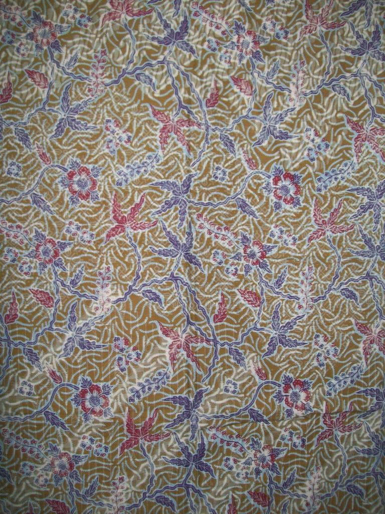 Jual Murah Kain Batik Printing Motif Abstrak Bahan Katun Halus [K102]