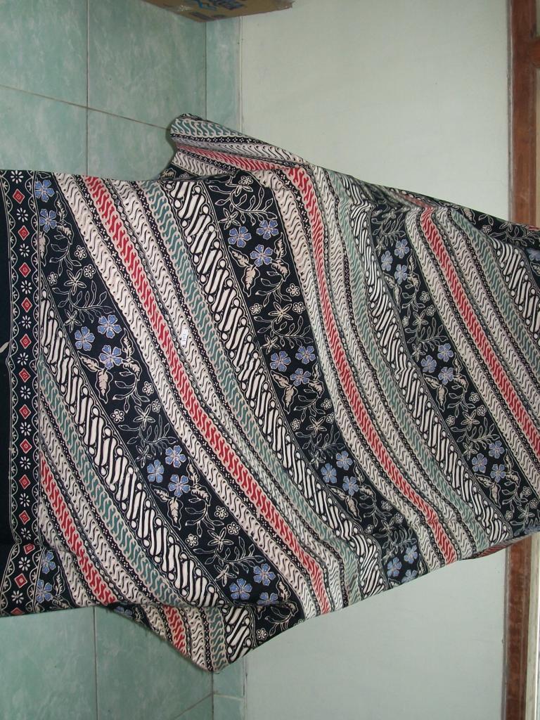 Jual Kain Batik Meteran Bahan Katun Jenis Batik Cap Tulis [K137]