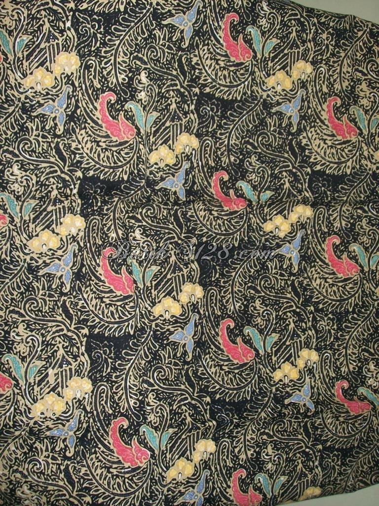 Jual Murah Kain Batik Solo, Batik Cap Kombinasi Tulis [K204]