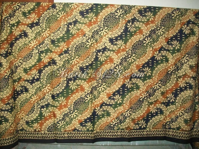 Bahan Kain Batik Cap Dijual Murah Harga Grosir Asli Solo K218