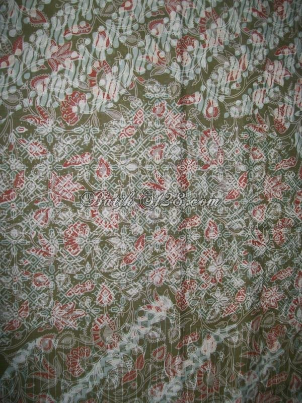 Bahan Batik Asli Solo Terlaris Dan Modern [K279]