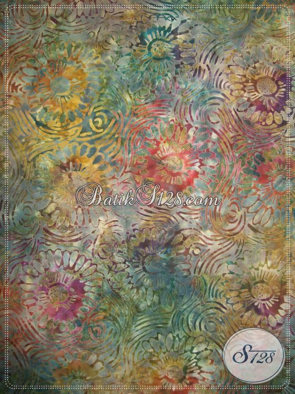 Bahan Batik Untuk Blus Batik Trendy Dengan Harga Relatif Murah [K371]