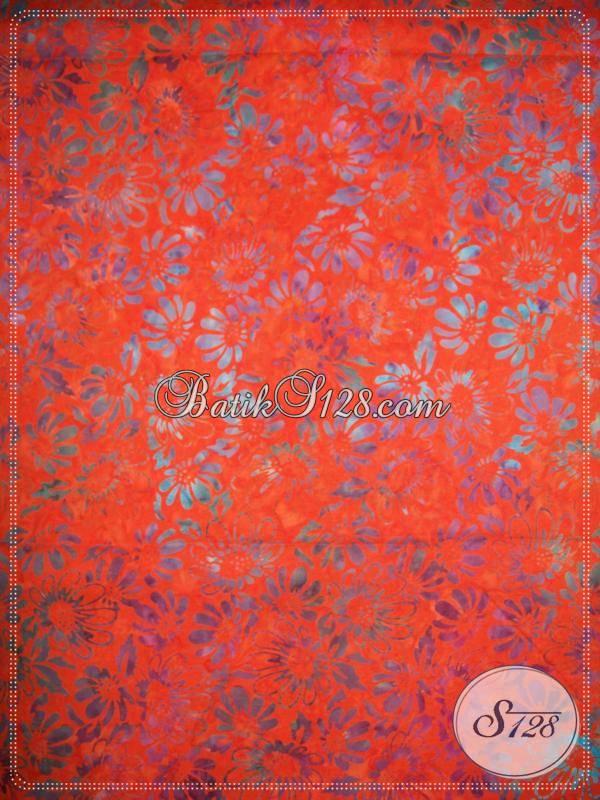 Jual Bahan Batik Untuk Fashion Batik,Motif Unik Dan Modern [K372]