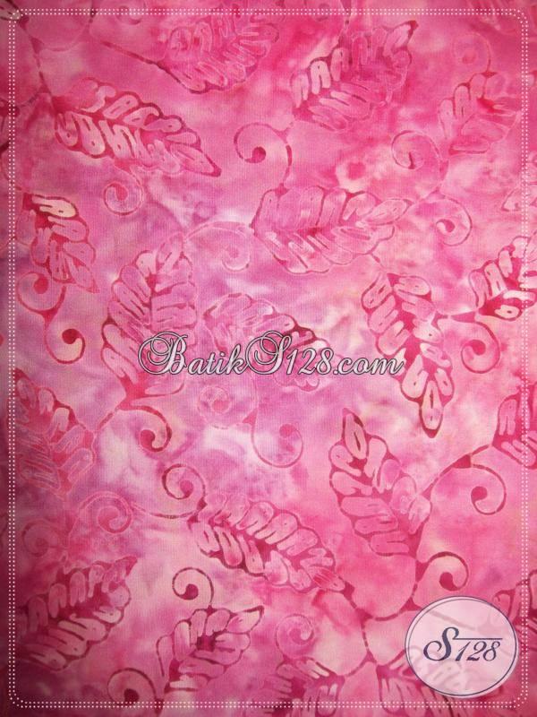 Kain Batik Cantik,Murah,Batik Fashion,Trendy Dan Modern [K374]